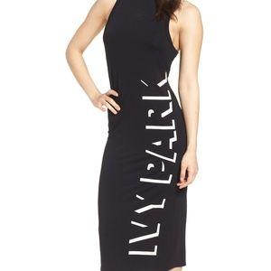IVY PARK Shadow Logo Dress--LARGE